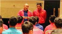 HLV Park cảnh báo học trò cần tôn trọng quyết định trọng tài