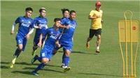 Tuyển Việt Nam rèn thể lực, Xuân Trường nói gì về khẩu hiệu AFF Cup 2018?