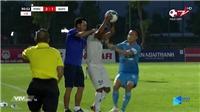 Bóng đá Việt Nam hôm nay: HLV bóp cổ cầu thủ xin lỗi. CLB Phố Hiến kiểm điểm HLV Hiền Vinh