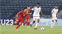 TRỰC TIẾP bóng đá hôm nay VTV6: U23 Jordan đấu với U23 Việt Nam, VCK U23 châu Á 2020