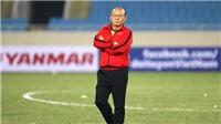 Bóng đá Việt Nam ngày 20/7: HLV Park Hang Seo không dẫn U22 Việt Nam đấu Trung Quốc