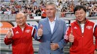 Thầy HLV Park Hang Seo dẫn dắt Trung Quốc, Việt Nam chưa đủ tầm buông AFF Cup