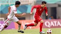 Bóng đá U23 châu Á hôm nay 16/1: U23 Việt Nam vs Triều Tiên. Jordan đấu với UAE