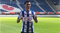 Tin tức bóng đá Việt Nam: Văn Hậu thích nghi nhanh, Minh Vương dẫn đầu vua phá lưới nội