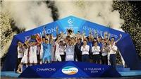 Bóng đá Việt Nam:Viettel nhận 9 tỷ tiền thưởng. U22 Việt Nam có đầy đủ quân số