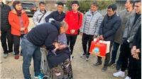 Bóng đá Việt Nam hôm nay: HLV Park bật khóc khi gặp mẹ,Quang Hải từ chối sang Nhật thi đấu