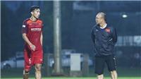Bóng đá Việt Nam hôm nay: HLV Park  Hang Seo có 4 lựa chọn thay thế Văn Hậu