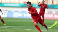 Bóng đá Việt Nam hôm nay: Cầu thủ U22 Việt Nam hâm mộ Tuấn Anh. Quang Hải đắt nhất tuyển Việt Nam