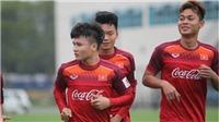 8 cầu thủ U23 Việt Nam tập riêng, HLV Park Hang Seo lo cho Tiến Linh