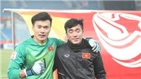 Thủ môn Tiến Dũng trao giải cầu thủ xuất sắc nhất trận bán kết World Cup 2018