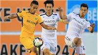 VTV6. Trực tiếp bóng đá. SLNA vs HAGL. Trực tiếp bóng đá Việt Nam vòng 12