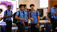 Công Phượng tươi rói đặt chân Myanmar, Quốc Vượng lo cho hàng tiền vệ tuyển Việt Nam