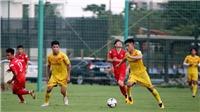 Bóng đá Việt Nam hôm nay: U22 Việt Nam bất phân thắng bại với CLB Viettel
