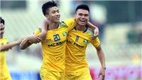HAGL chia điểm Hà Nội, SLNA bất phân thắng bại Sài Gòn FC