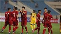 U23 Việt Nam hủy buổi tập trước trận gặp U23 Indonesia