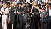 Cannes 2018: Các sao nữ biểu tình trên thảm đỏ