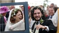 Các sao 'Trò chơi vương quyền' xúng xính dự đám cưới 'Jon Snow'