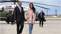Trưởng nữ cựu tổng thống Mỹ Obama dấn thân vào làng giải trí?
