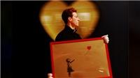 Chưa từng có: Tranh Banksy tự hủy ngay sau khi được bán với giá triệu USD