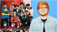 Suga tiết lộ tin tuyệt vời về ca khúc BTS hợp tác với Ed Sheeran