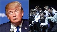 Cư dân mạng quan tâm tới BTS hơn Tổng thống Mỹ Donald Trump gấp nhiều  lần
