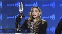 Madonna tưởng nhớ những người bạn mất vì AIDS trong phát biểu nhận giải GLAAD