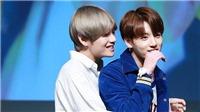 Fan bấn loạn với khoảnh khắc V dung dăng nắm tay Jungkook BTS kéo đi