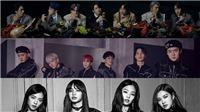 BTS cùng Blackpink và EXO đứng đầu BXH nhóm nhạc Kpop tháng 4