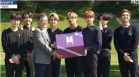 BTS trao quà đặc biệt cho tổng thống nhưng 19 năm sau mới được mở
