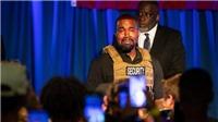 Kanye West chi 6,8 triệu USD vào chiến dịch tranh cử tổng thống