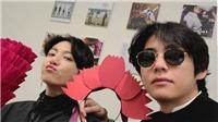 Tan chảy với chuyện V và Jungkook BTS tung tăng đi mua sắm cùng nhau