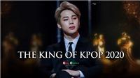 Jimin BTS được tôn là 'Vua Kpop' năm thứ hai liên tiếp