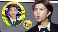 RM BTS bất ngờ khi được ARMY bầu làm… Tổng thống Brazil