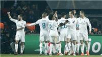 PSG 1-2 (2-5 chung cuộc) Real Madrid: Ronaldo lại ghi bàn, đánh sập Paris