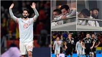 Messi ngao ngán bỏ về sớm khi Argentina thảm bại trước Tây Ban Nha