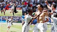 Ibrahimovic gây sốt với màn ra mắt LA Galaxy bằng siêu phẩm volley từ khoảng cách gần 40m