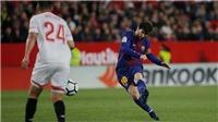 Sevilla 2-2 Barcelona: Messi vào sân, Barca lập tức thoát hiểm ngoạn mục
