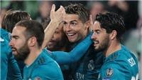 Juventus 0-3 Real Madrid: Ronaldo rực sáng, Kền kền trắng đánh sập Turin