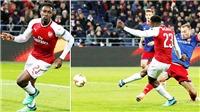 Chiêm ngưỡng pha phối hợp cực kỳ ăn ý giữa Welbeck và Elneny, giúp Arsenal thoát hiểm