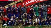 Sevilla 0-5 Barcelona: Bộ tứ Messi, Suarez, Coutinho, Iniesta rực sáng, Barca đoạt cúp Nhà vua