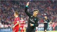Bayern 1-2 Real Madrid: Ronaldo chơi tệ nhất, có nguy cơ mất bóng vàng vào tay Salah