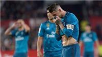 Video bàn thắng Sevilla 3-2 Real Madrid: Ramos tội đồ, Real thua cay đắng