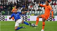 Video clip highlights bàn thắng trận Italy 1-1 Hà Lan: Bất phân thắng bại
