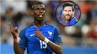 Đá siêu tệ, Pogba vẫn ví mình với… Messi