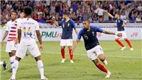 Video clip highlights bàn thắng Pháp 1-1 Mỹ: Người hùng Kylian Mbappe