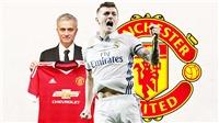 CHUYỂN NHƯỢNG M.U 25/7: Được báo giá Kroos. Mourinho nhắm Yerry Mina, Willian