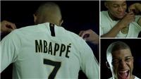 Mbappe chính thức chọn áo số 7 như Ronaldo, ngầm ý 'truất ngôi' CR7