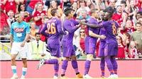 Video clip highlights Liverpool 5-0 Napoli: Salah trở lại, The Kop thắng hủy diệt