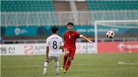 U23 Việt Nam: Xuân Trường đang rơi phong độ cực nhanh tại ASIAD 2018