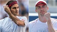 ĐỊA CHẤN: Federer thua sốc tay vợt ngoài Top 50, lỡ hẹn với Djokovic